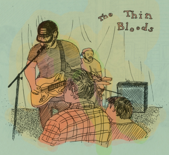 The Thin Bloods at Parliament Tempe, 5/23/14